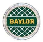 C3112-Gold Baylor on Green Chelsea Coaster