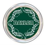 C3114-White Baylor  on Green Provencial