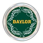 C3115-Gold Baylor on Green Provencial Coaster