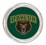 C3118-Baylor Bear Head on Green Fret Coaster