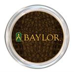 C3122-Baylor with Bear Head on Green Crock Coaster