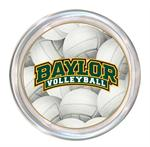 C3126-Baylor Arched Volleyball Coaster