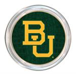 C3128-Baylor Interlocking BU on Green Crock Coaster