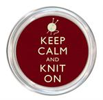 C8270 - Keep Calm And Knit On Coaster