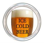 C8296 - Ice Cold Beer Coaster