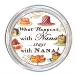 C8318-What happens with Nana stays with Nana Coaster