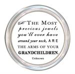 C8434-The most precious jewels you'll ever have..grandchildren Coaster
