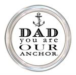 C8442-Dad You Are Our Anchor Coaster