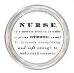 C8498 - Nurse is just another word  Coaster