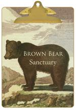 CB1158 - Brown Bear Personalized Clipboard
