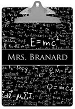 CB1387 - Einstein's E = mc2 Clipboard
