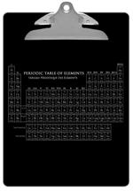 CB1393 - Vintage Periodic Table Clipboard