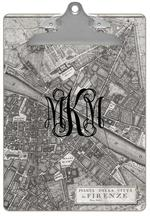 CB2636 - Firenze Italy Map Clipboard