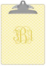 CB2656 - Chelsea Butter Personalized Clipboard