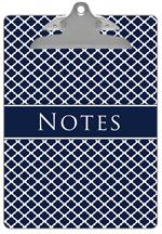 CB2857-Chelsea Navy Clipboard