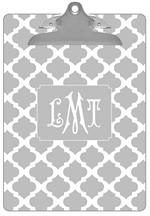 CB2861 - Grey Chelsea Grande Personalized Clipboard