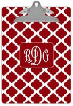 CB2982 - Red Chelsea Grande Personalized Clipboard