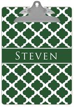 CB2987 - Green Chelsea Grande Personalized Clipboard