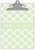 CB2988 - Mint Chelsea Grande Personalized Clipboard