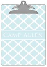CB2990 - Light Blue Chelsea Grande Personalized Clipboard