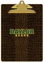 CB3103-Baylor Bears Green With Gold Detail Clipboard