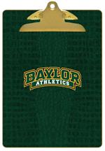 CB3107-Baylor Athletics on Green Crock Clipboard