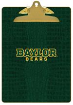 CB3108-Baylor Bears on Green Crock Clipboard