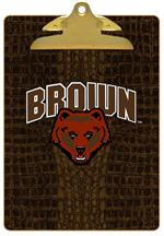 CB5100-Brown  University Clipboard
