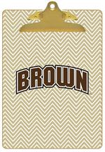CB5112-Brown University Clipboard