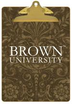 CB5113-Brown University Clipboard