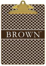 CB5116-Brown University Clipboard