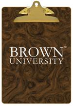 CB5117-Brown University Clipboard