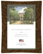 George W. Bush Presidential Center Groundbreaking Award Recognition Gift