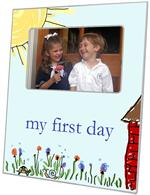 F1268-School House Personalized Picture Frame