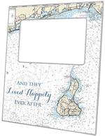 F1384-South County & Block Island Rhode Island Nautical Chart Picture Frame