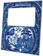 F1386 - Blue Willow Picture Frame