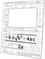 F1390-Quadratic Equation Picture Frame