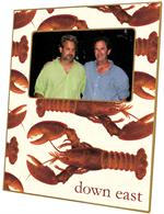 F1541-Cooked Lobsters Picture Frame