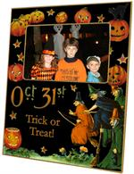 F1591-Oct. 31st Halloween Picture Frame