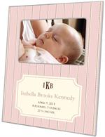 F1640-I - Avery Petal Birth Announcement Picture Frame