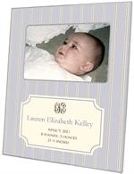 F1642 - Avery Lilac Birth Announcement Picture Frame