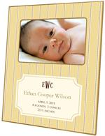 F1643-I - Avery Butter Birth Announcement Picture Frame