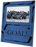 F2441 - Ice Hockey Blue Picture Frame