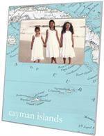 GB2506 - Cayman Islands Antique Map  Personalized Glass Cutting Board