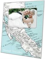 F2641 - Costa Rica Map Frame
