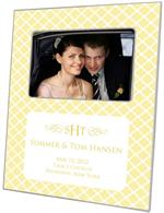 F2656-I - Chelsea Butter Birth Announcement Picture Frame