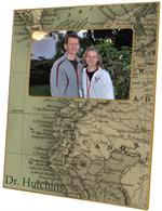 F2707 - Ecuador Map Picture Frame