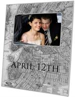 F2740 - Brooklyn Map Picture Frame