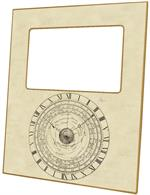 F2841 - Vintage Astronomical Clock Picture Frame