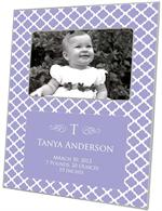F2854-I - Lavender Chelsea Personalized Picture Frame